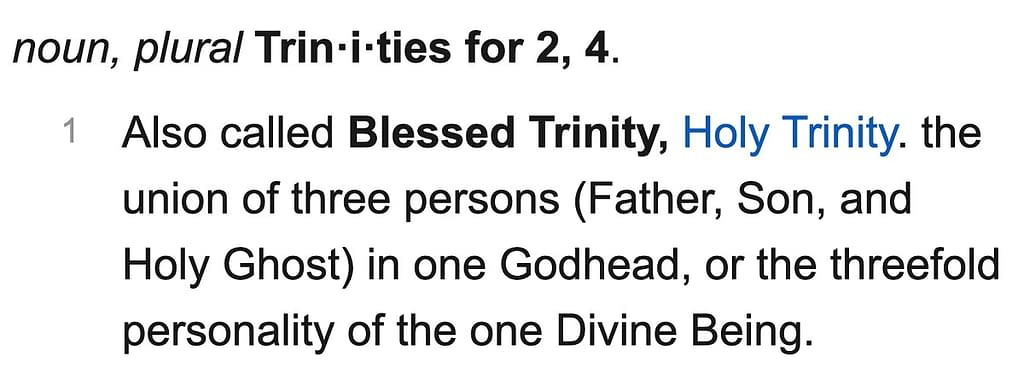 The Trinity: Is There One Christian God?