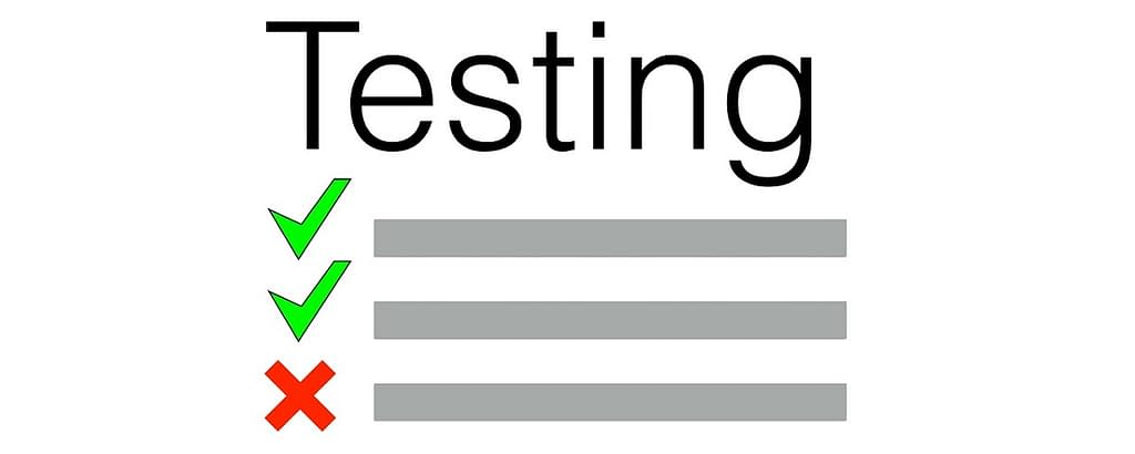 Is not testing really a good idea?