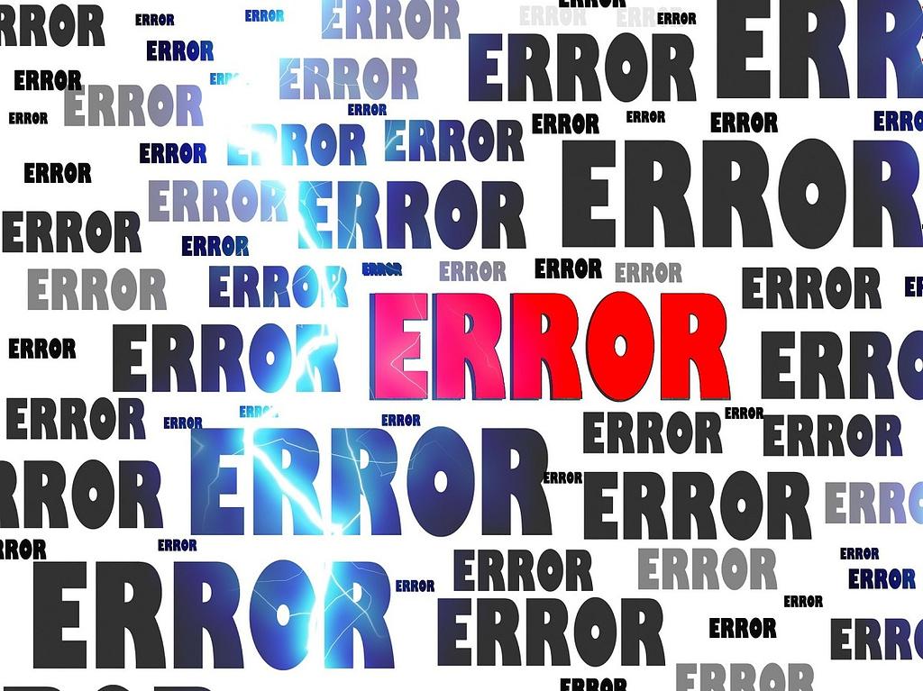 Error - Does God make mistakes?