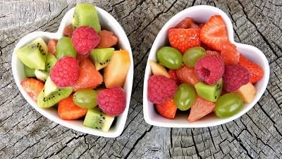 love without caring - heart shaped bowls
