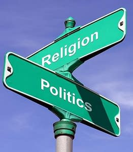 The problem of politics and religion