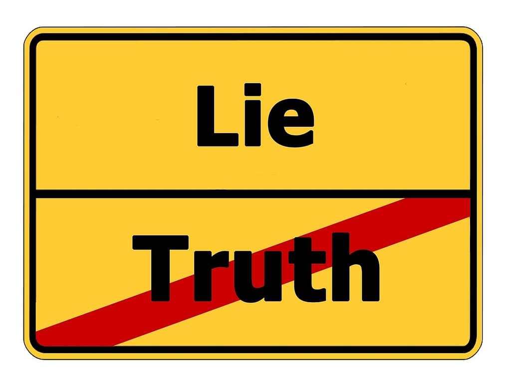 Truth + Half Truth = Half Lie = Lie