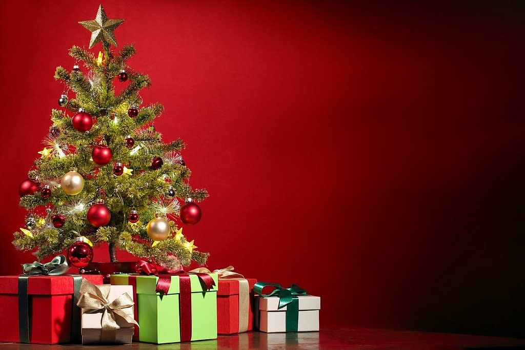 Christmas tree - A Christmas conversation with Jesus