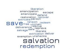 salvation word cloud